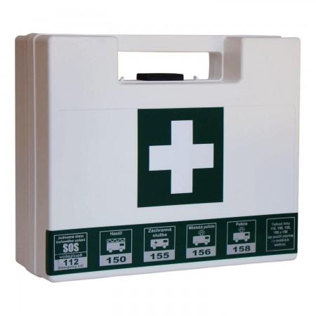 Lékárnička přenosná plastový kufřík -